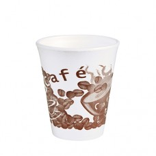 "50 Thermo cups, EPS 0.2 l Ø 8 cm · 9.1 cm white ""Café"""