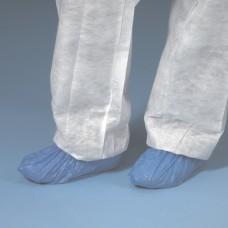 100 PE Overshoes 15 cm x 7 cm x 41 cm blue