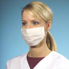 100 Face mask tissue 2-layer 19.5 cm x 7 cm white