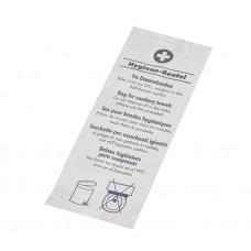 """200 Sanitary bags 28 cm x 11 cm x 5.5 cm white """"Printed"""""""