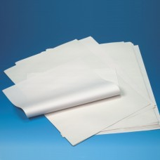 10 kg wrapping paper made of cellulose 50 cm x 37.5 cm white 1/4 arch