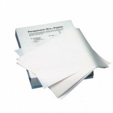 Greaseproof paper 37.5 cm x 25 cm white à 12.5 kg, fat resistant