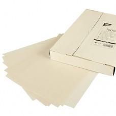 1000 Sheets of cream cover paper 32 cm x 22 cm white