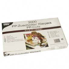 2000 Cuts, PP 36 cm x 24 cm transparent
