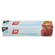24 Freezer bags, LLDPE 10 l 60 cm x 40 cm transparent in folding box