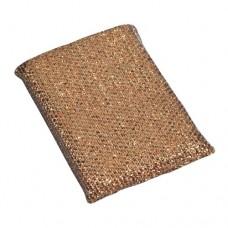 """2 Pan sponges """"Multi"""" 1.5 cm x 9.5 cm x 12.5 cm gold"""