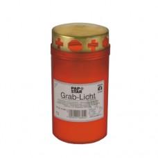 Gravelight Ø 6.4 cm · 12.5 cm red cover