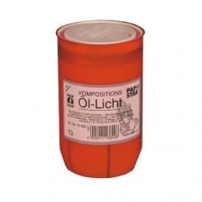 Oil-light Ø 5.8 cm · 9.6 cm red cover