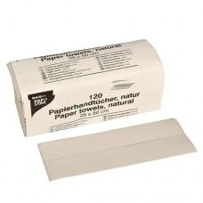 120 sheet Paper towels 50 cm x 25 cm nature C-fold, 1-ply