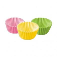 300 Baking cups Ø 2.4 cm · 1.6 cm colours assorted