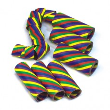"3 Deco Streamers 4 m ""Rainbow"""