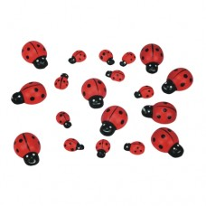 "Scattering decoration, wood ""Ladybird"" 15 g"