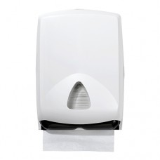 Dispenser for paper towels 41 cm x 28.2 cm x 12.5 cm white