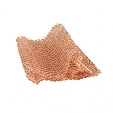 3 Copper scourer 15 cm x 25 cm copper