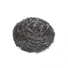 2 Spiral pan sponges Ø 6 cm · 4 cm silver
