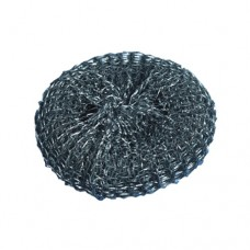 Wire pan sponges Ø 10 cm · 3 cm silver