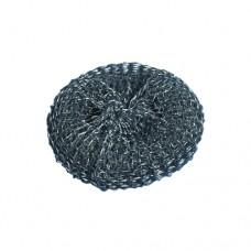 3 Wire pan sponges Ø 7 cm · 2 cm silver