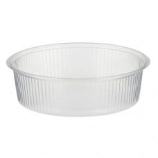 100 Packaging cups, PP round 125 ml Ø 10.1 cm · 3.1 cm transparent