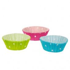 """60 Baking cups Ø 5 cm · 2.5 cm colours assorted """"Dots"""""""