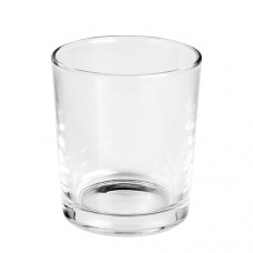 Deco-glass round Ø 96 mm · 110 mm crystal clear