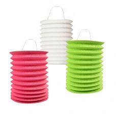 """2 Lanterns Ø 15 cm · 20 cm colours assorted """"Intensive"""""""