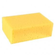 Universal sponge 16 cm x 11 cm x 6 cm yellow