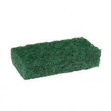 "5 Fleece pads 12.5 cm x 6.5 cm x 2.5 cm green ""Middle strong"""