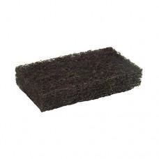 "5 Fleece pads 12.5 cm x 6.5 cm x 2.5 cm black ""Strong"""