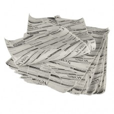 """5 kg Wrapping paper made of artificial parchment paper 35 cm x 25 cm """"Newsprint"""" fat resistant"""