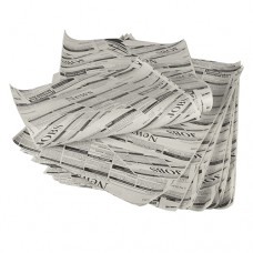 """Wrapping paper made of artificial parchment paper 35 cm x 25 cm """"Newsprint"""" fettdicht (1 kg)"""