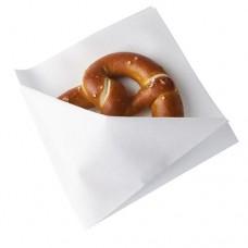 50 Snack napkins, cloth-like, airlaid 1/4 fold 32.5 cm x 30.5 cm white