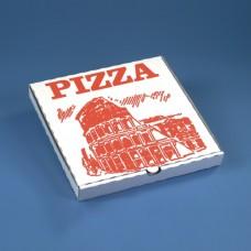 100 Pizza boxes square 26 cm x 26 cm x 3 cm