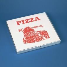 100 Pizza boxes square 30 cm x 30 cm x 3 cm