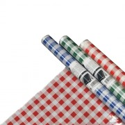 Tablecloths, foil or polyester